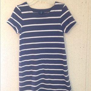 Gap blue-and-white striped Nautical T-shirt dress